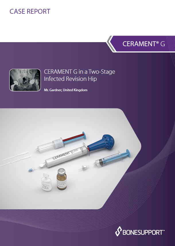 CERAMENT ®|G in a two-stage infected hip